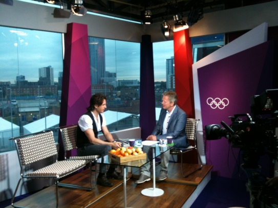 Peter Jöback, at the 2012 London Olympics.