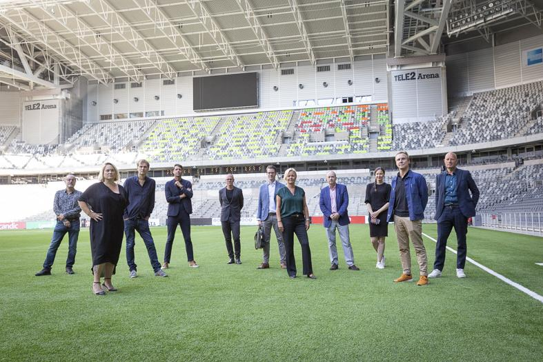 The event industry meets Parliament, Tele2 Arena, August 2020.